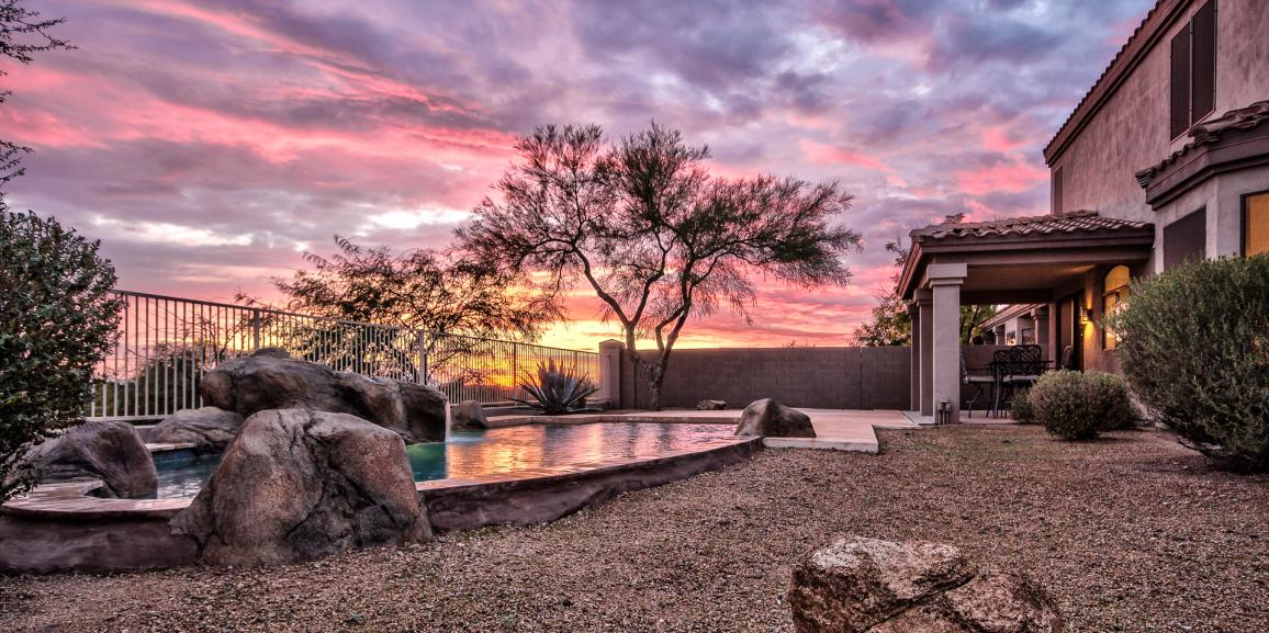 Spacious Scottsdale Home With Breathtaking Sunset Views For Sale- 12217 E Lupine Ave