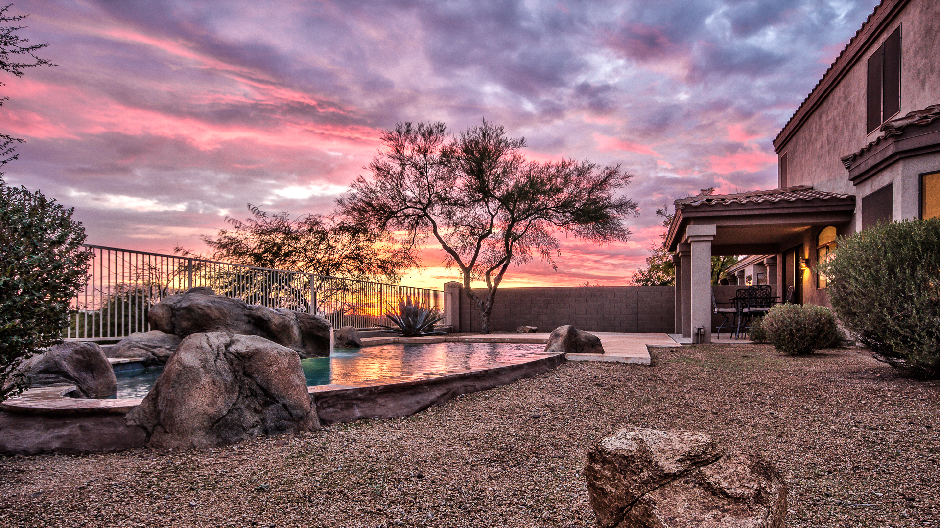 Spacious Scottsdale Home With Breathtaking Sunset Views For Sale 12217 E Lupine Ave